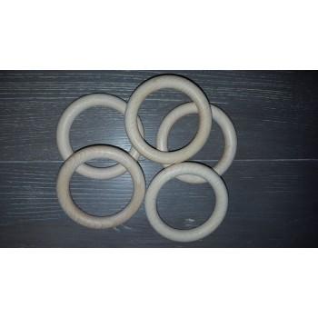 Houten ringen 50/70 mm (5 stuks)